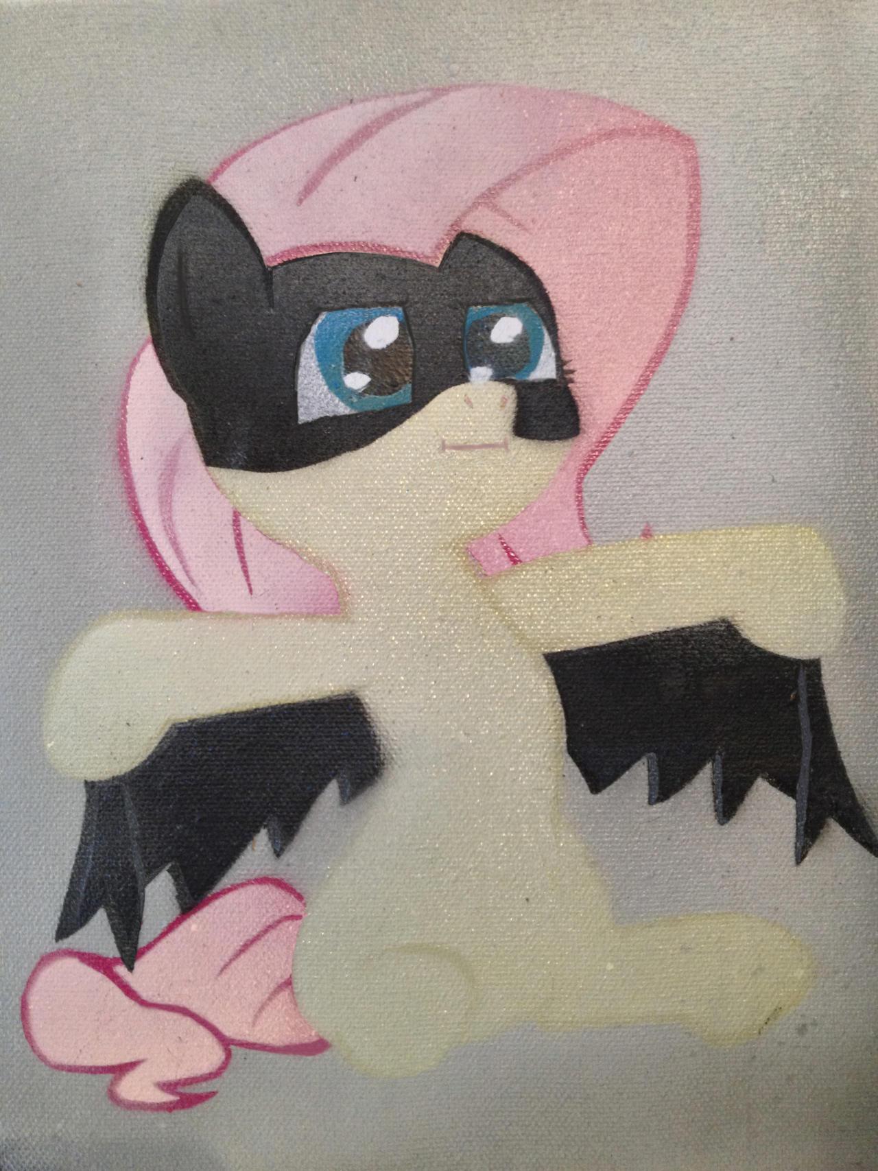 Batmare Stencil by SCARFI5H