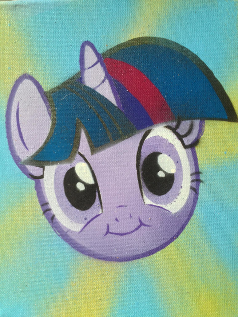 Happy Twilight Stencil by SCARFI5H