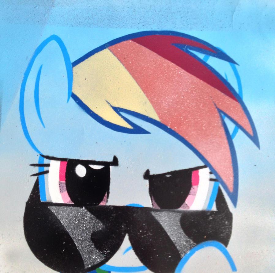 Seriously Dash Stencil by SCARFI5H