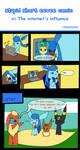 Stupid short eevee comic #2 by Scruffyeevee