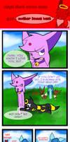 Stupid short eevee comic 27 by Scruffyeevee