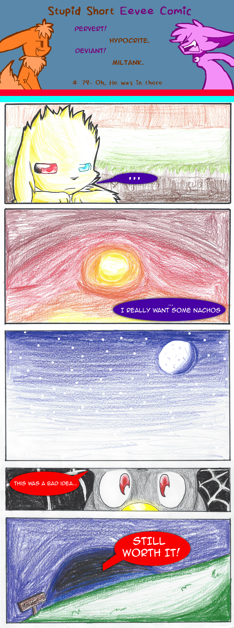Next comic is a meanwhile!