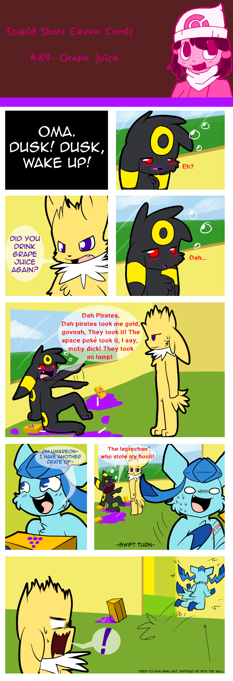 The most normal eeveelution is Dawn, who, has almost