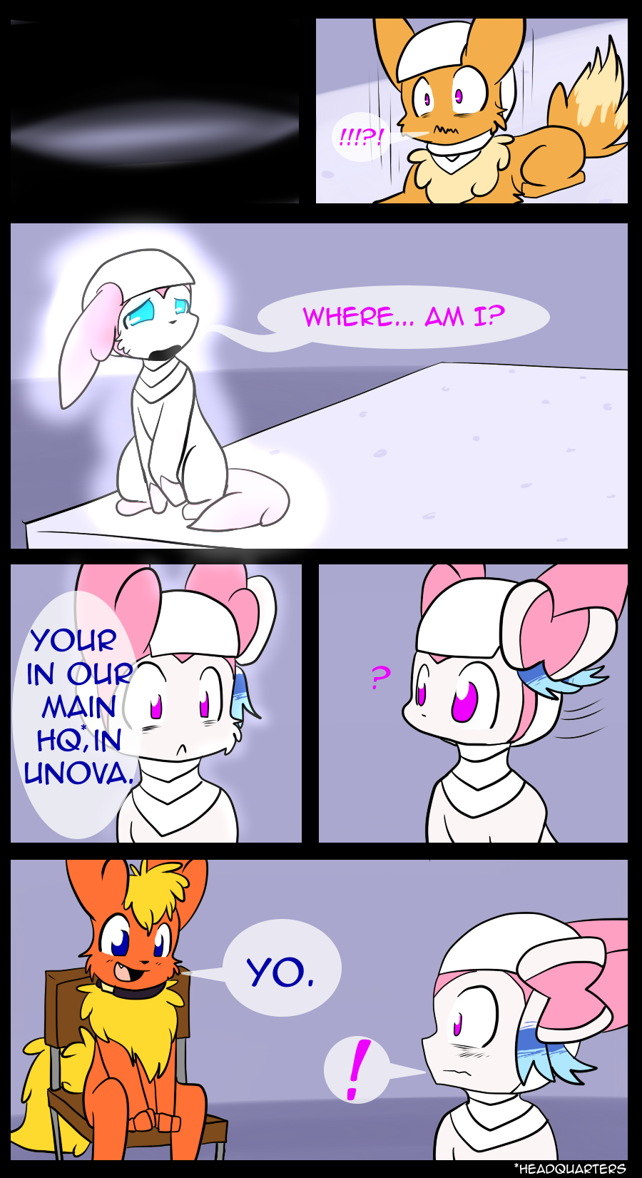 The last comic is probably the only time something like that will happen in the comic.