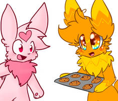 Collab- Cookies! by Scruffyeevee