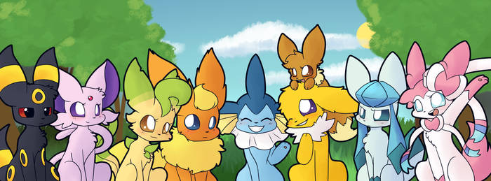 The squad by Scruffyeevee