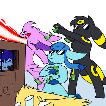 SSEC: Draw the Squad-Money! by Scruffyeevee