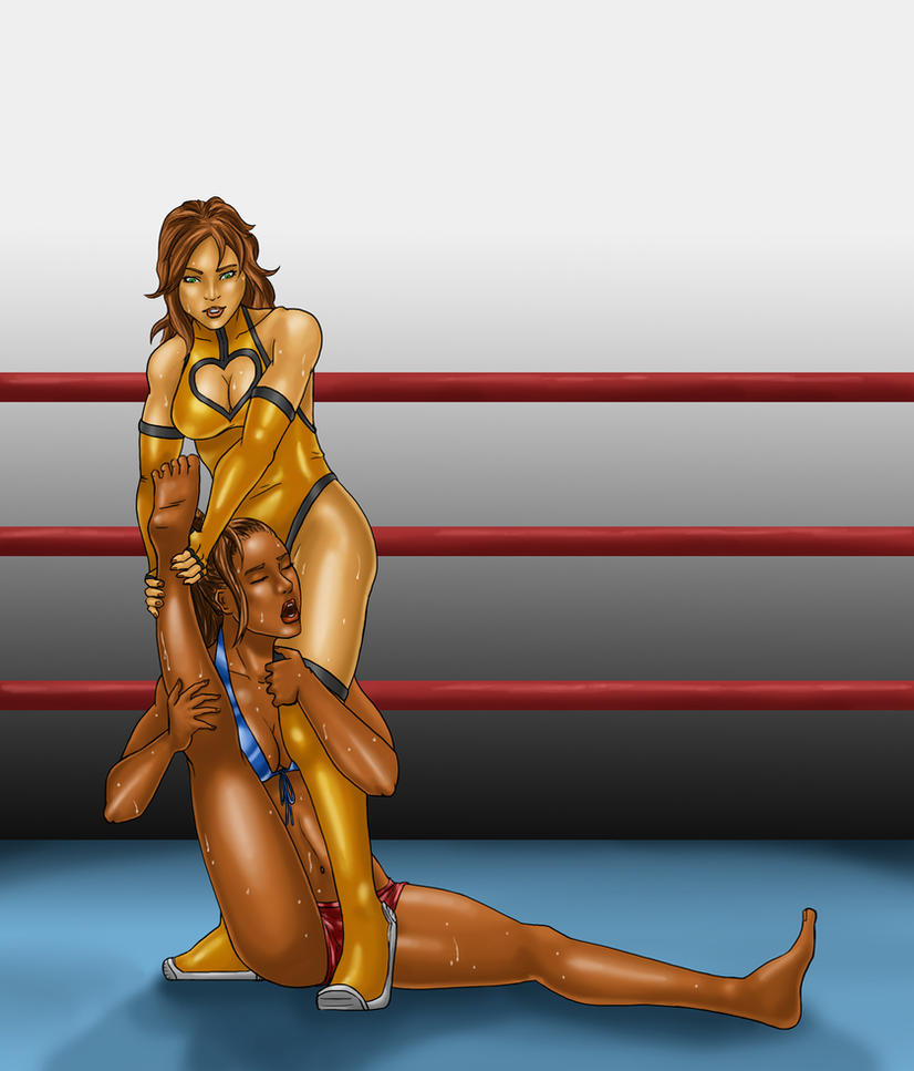 Kayla Wrestles Midas by gwproject