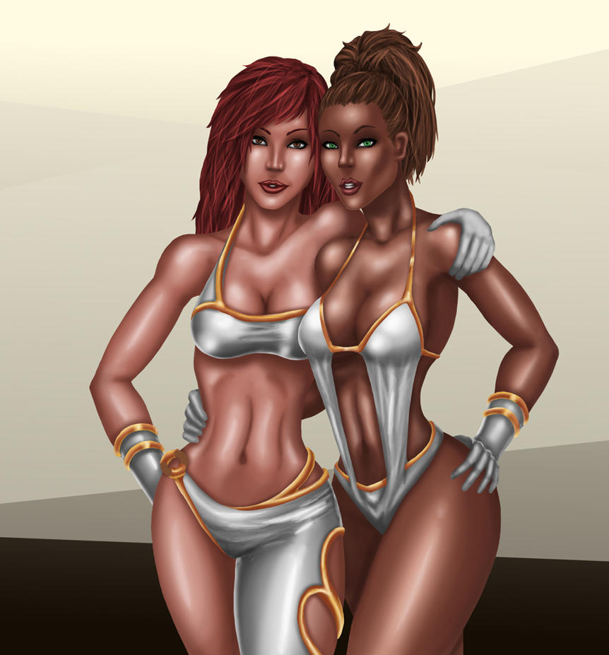 Kayla and Taryn Tag Team by gwproject