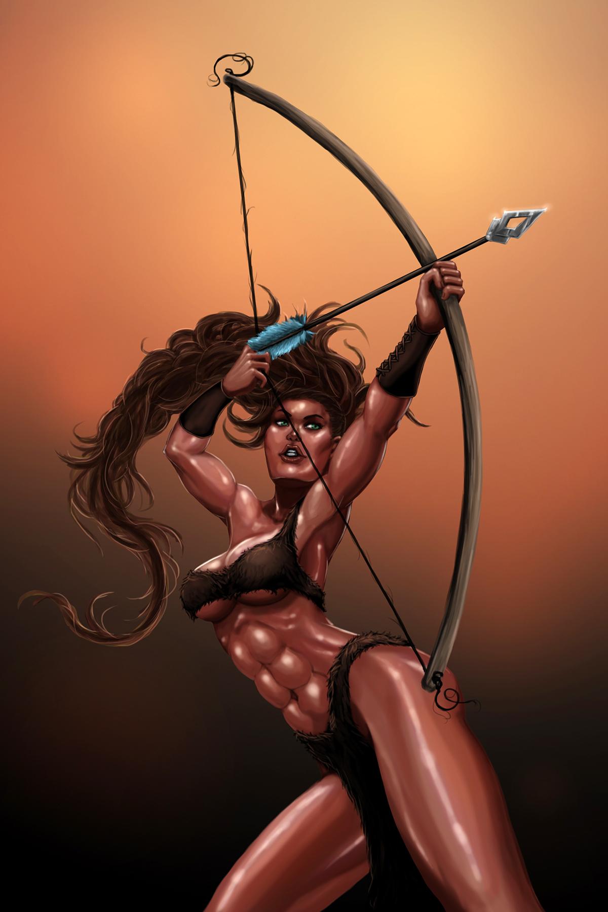 Archer Kayla by gwproject