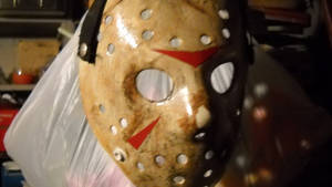part 3 barn scene jason mask by monkeythe13th