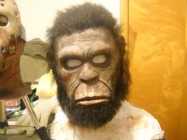 sasquatch mask by monkeythe13th