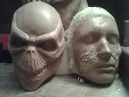 lordi oz sculpt and a corpse sculpt