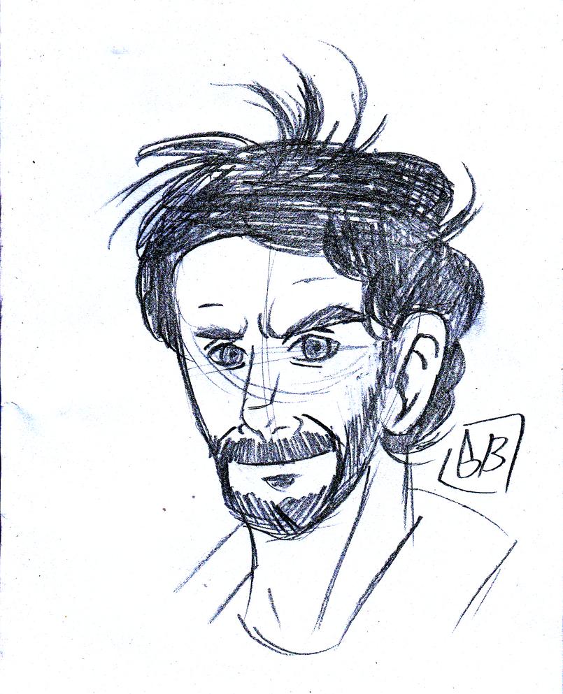 Bob Lennon [Portrait] by Gihellcy-Bleizdu