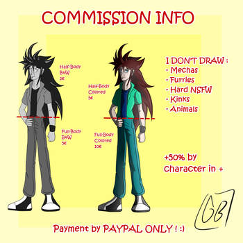 COMMISSIONS INFO March 2k19 by Gihellcy-Bleizdu
