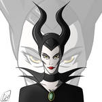 The Mistress Of All Evil by Gihellcy-Bleizdu