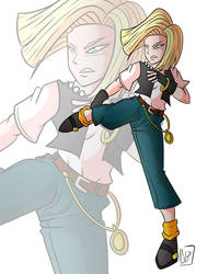 REQUEST - Android 18 - Dragon Ball