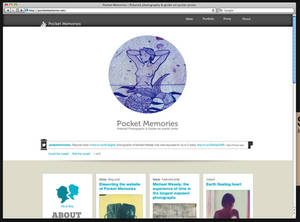 the new drupal website of pocketmemories