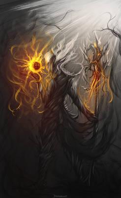Legendry Dark Elf Magician