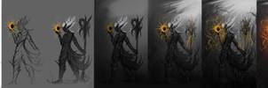 Legendry Dark Elf Magician: Step Chart