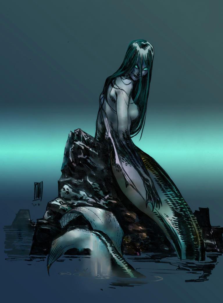 Siren By Xel Lotath On Deviantart