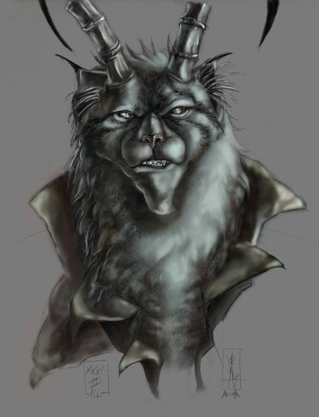 The Pallas Cat Feral Mutagen-II by Xel-Lotath