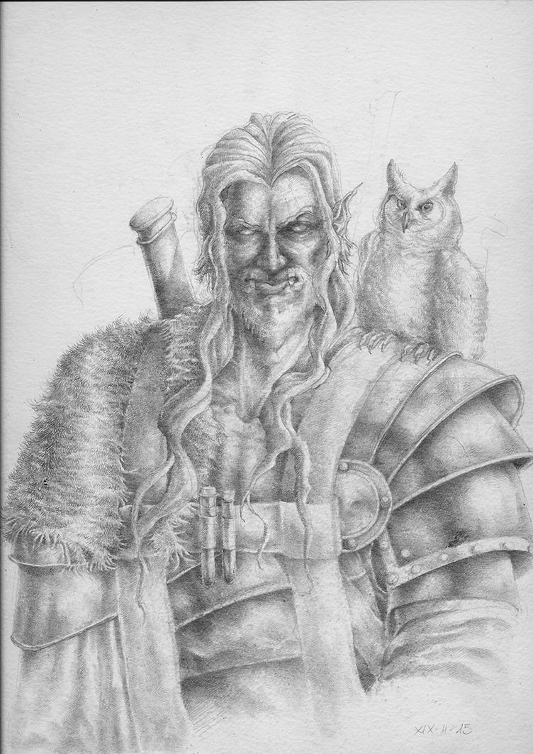 Half-Orc by Xel-Lotath