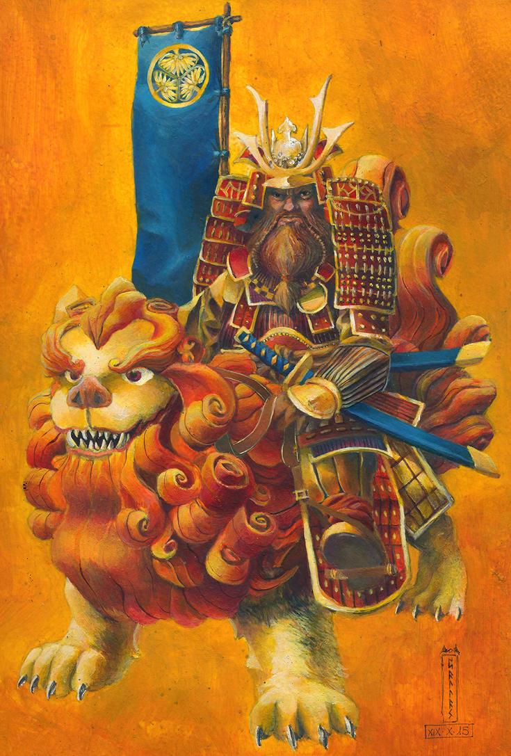 Tokugawa Dwarf by Xel-Lotath