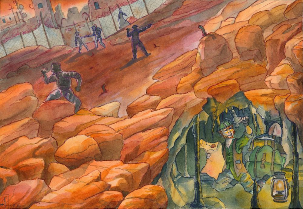 Run for the Treasure by Xel-Lotath