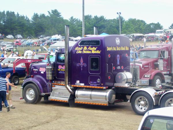 Semi-Truck pull by o0FallenStar0o on DeviantArt