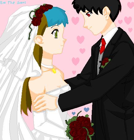 Moon x Silver Get Married by emroseismadeofsalt