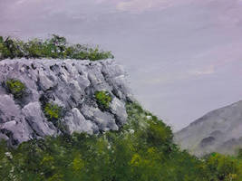 Limestone ridge detail