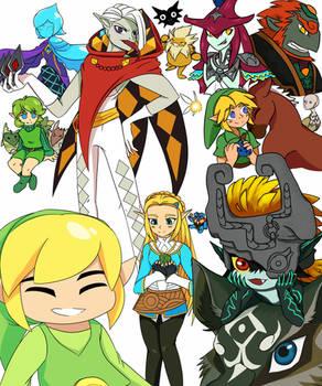 I love Zelda characters