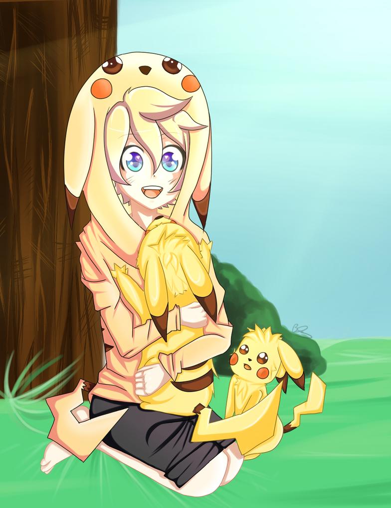 Pikachu Len by Mephalies