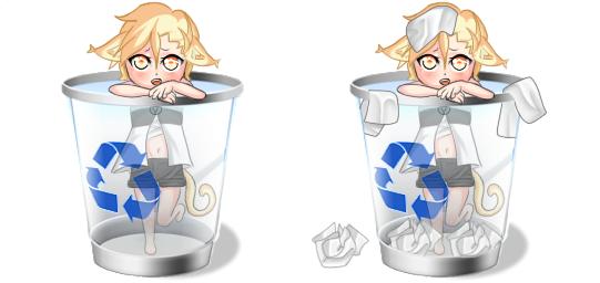 my bin by Mephalies