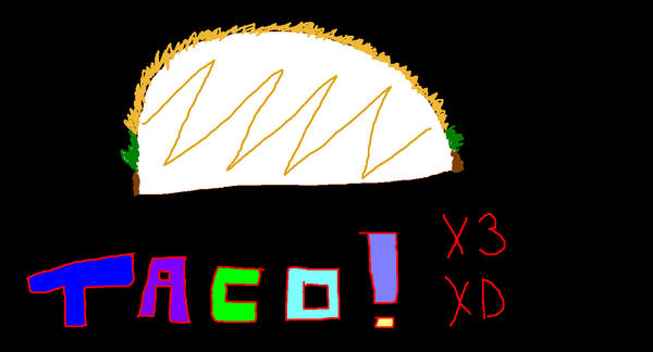 The Friendly Taco--ocaT by Tanglecloud