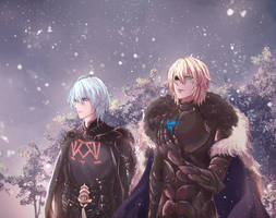 fire emblem three houses - Snow in Faerghus -