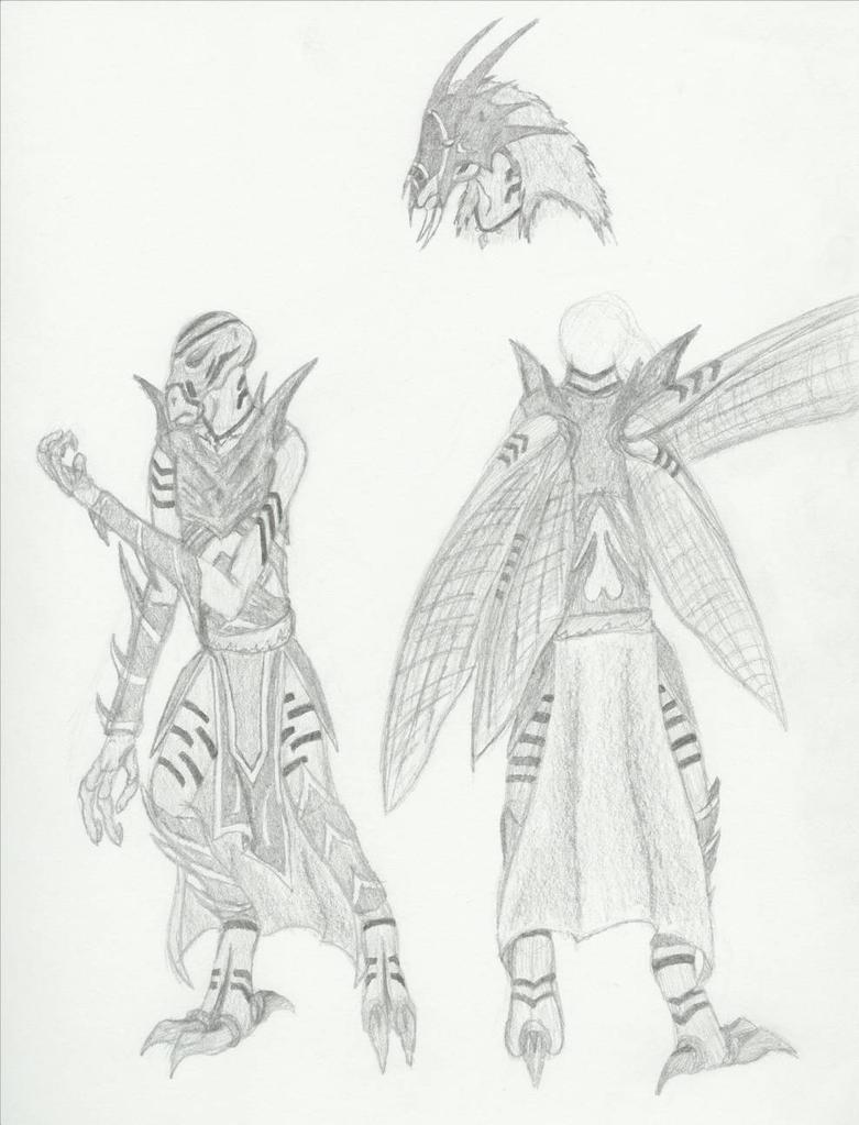 Huk Warrior Concept by magrunemoon
