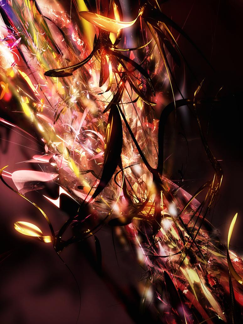 Stream of Fire by liquae