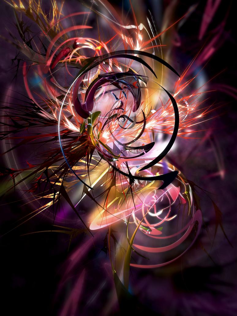 Fire Blossom by liquae