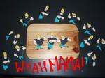 WOAH MAMA Johnny Bravo cookies