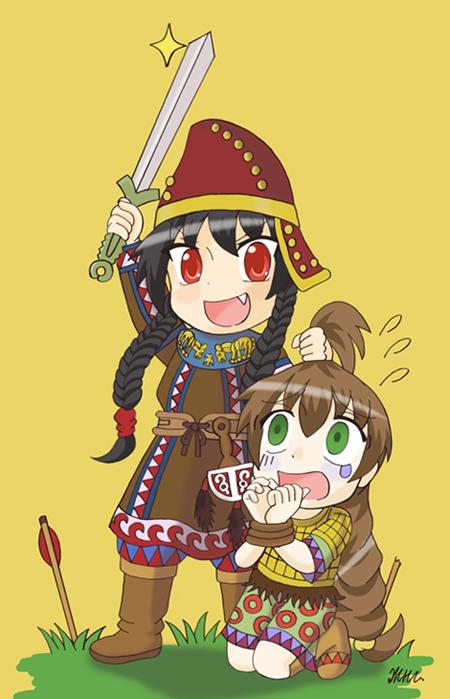 Scythians Are Coming by KryMizunagij