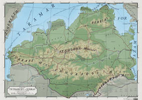 ATLAS ELYDEN - #12: a map of Jurras by vorropohaiah