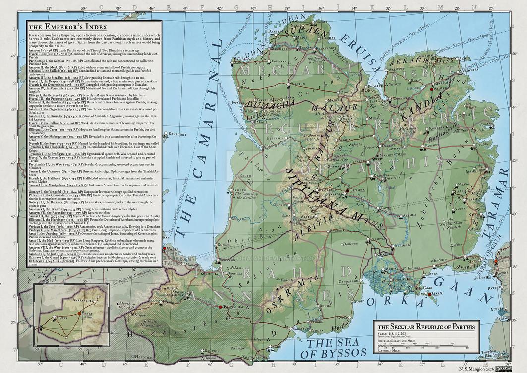 Atlas Elyden #16 - Parthis by vorropohaiah