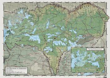 Atlas Elyden #17 - Ahrishen, Virahan and Baatan by vorropohaiah