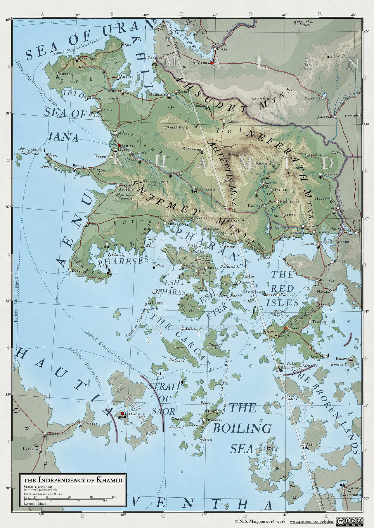 Atlas Elyden #29 - the Independancy of Khamid