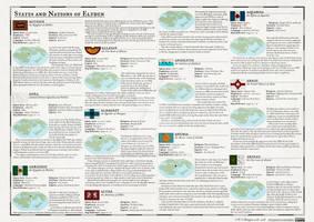 Atlas Elyden #38 States and Nations of Elyden, pt1