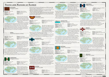 Atlas Elyden #38 States and Nations of Elyden, pt1