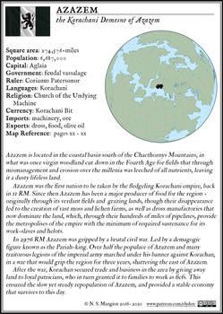 Azazem Fact Box