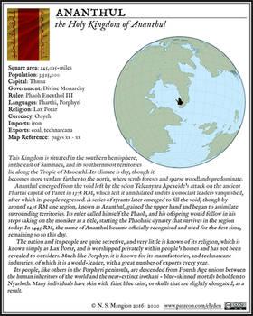 Ananthul Fact Box